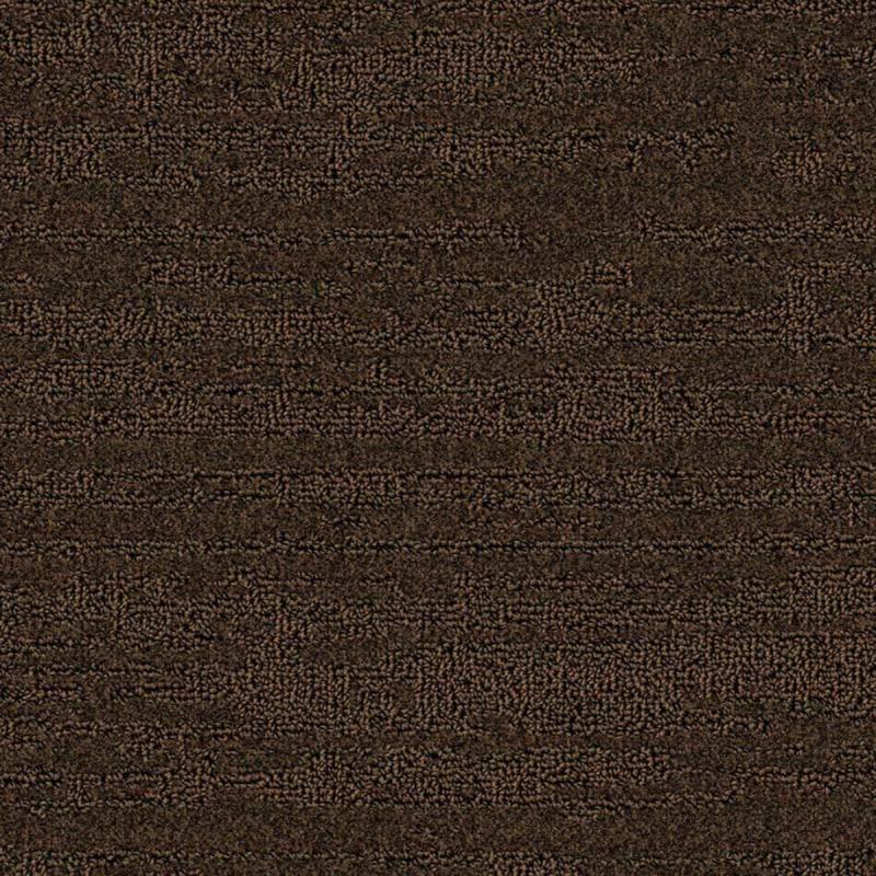 Moquette structurée dessin vague 691 Wengé coloris marron glacé